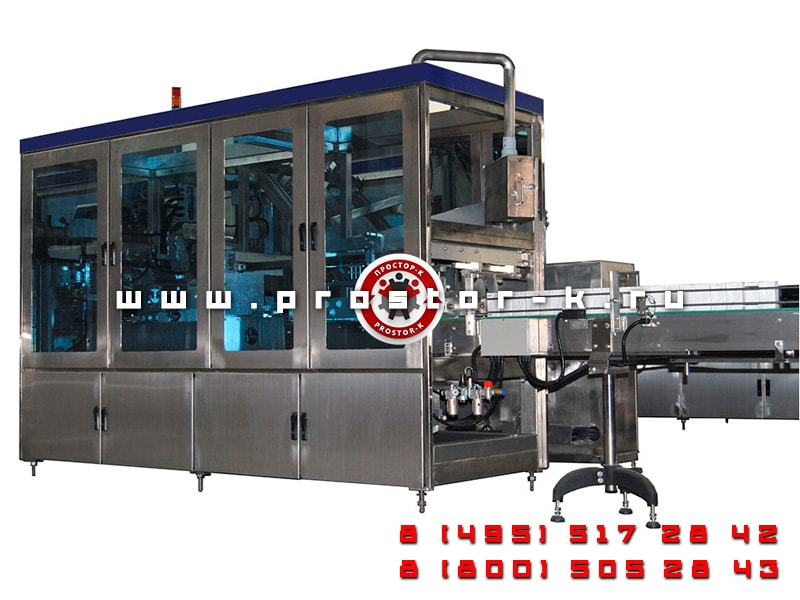 Case Packer for TetraPAK
