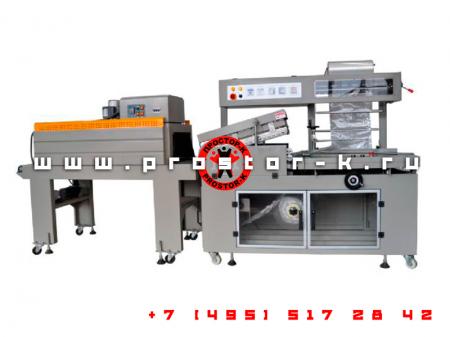 Введена в эксплуатацию автоматическая термоусадочная машина BS-400LA+BMD-450C в POF пленку