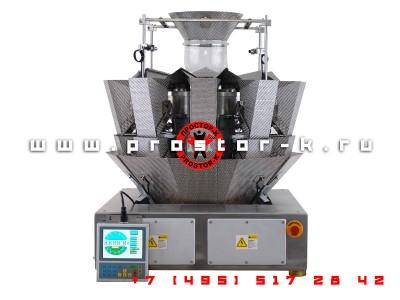 Мультиголовочный весовой дозатор JW-10 (мультиголовка)