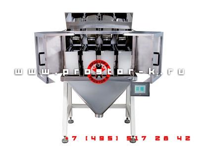 Линейный весовой дозатор JW-4 (четырехпоточный)