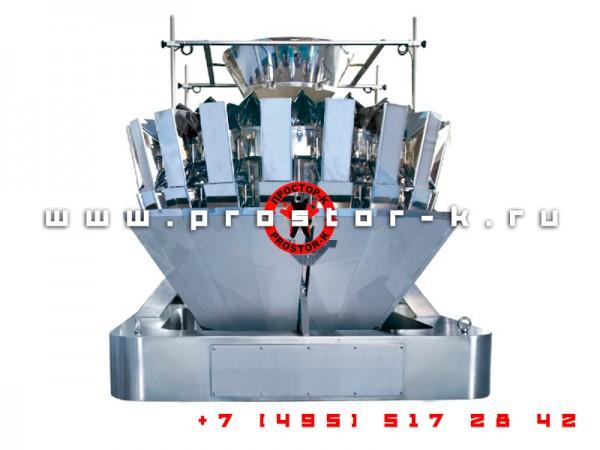 Компания «Простор-К» предлагает современный и производительный мультиголовочный дозатор для фасовки любых сыпучих и мелкоштучных товаров.