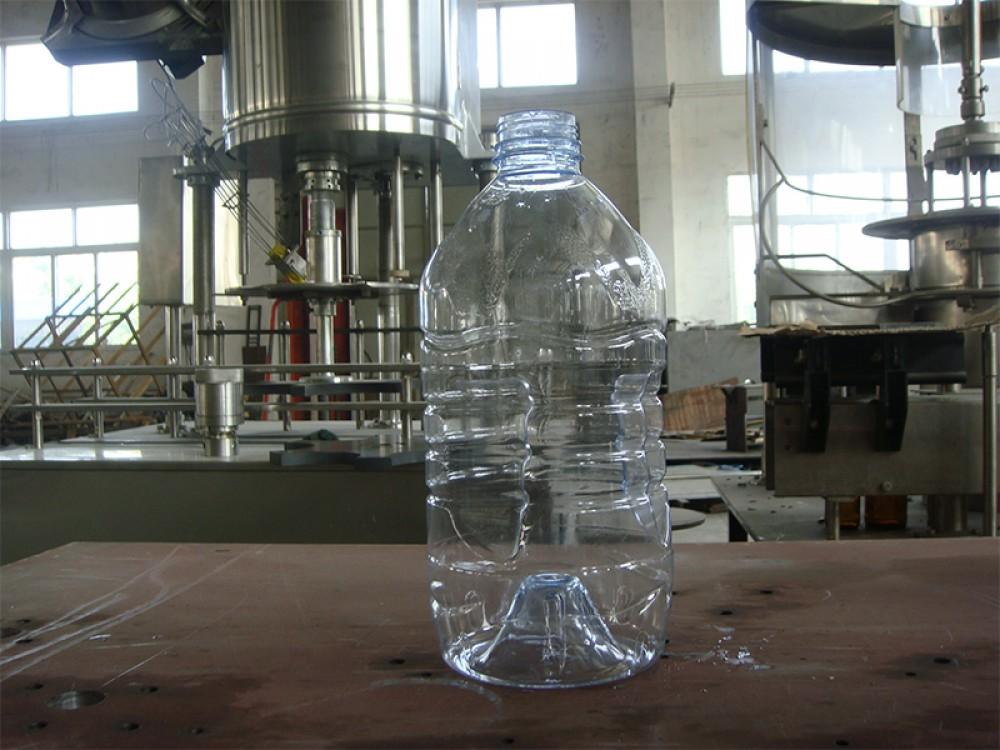Линия розлива чистой воды в ПЭТ