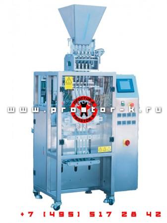 Вертикальная упаковочная машина с автоматическим клипсатором