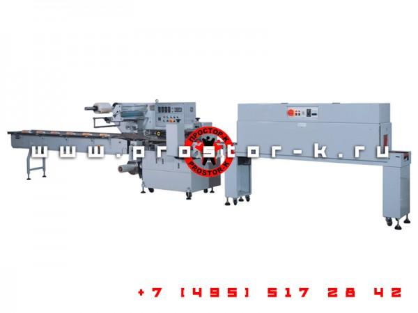 Промышленная горизонтальная машина с термотоннелем