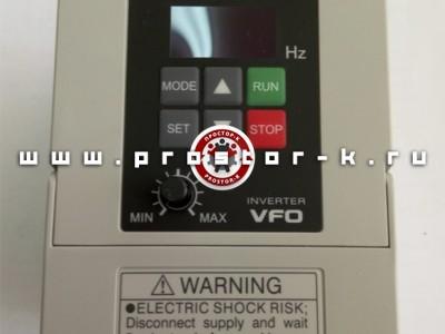Преобразователь частоты 0,4 кW Panasonic