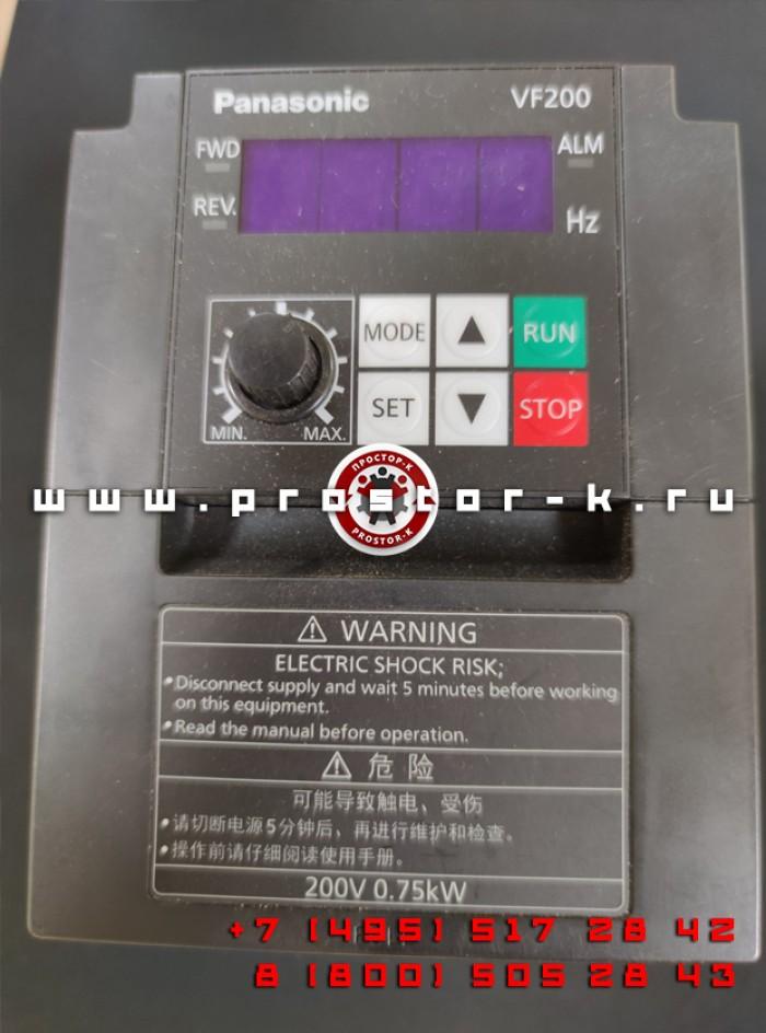 Преобразователь частоты 0,75 кW