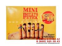 Упаковка картофельных палочек на картонажном оборудовании