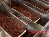 Упаковка кофейных зерен в дойпак пакеты