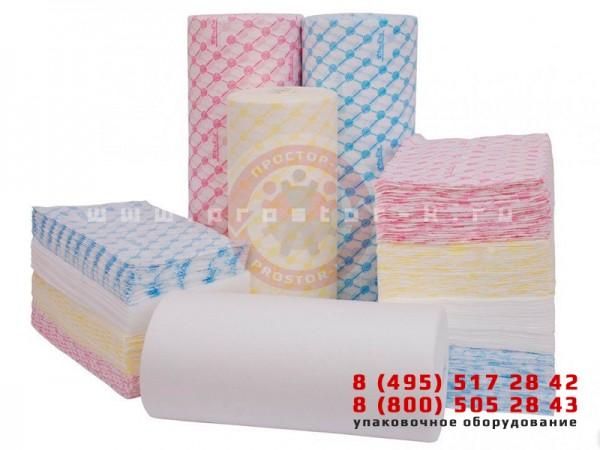 Упаковка одноразовых салфеток — упаковочное оборудование «Простор-К»