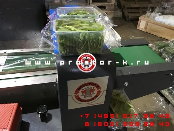 Машина для упаковки рукколы PROSTOR-600