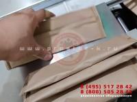Упаковка в крафт-бумагу пластиковых вилок