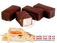 Упаковка шоколадных конфет в индивидуальную упаковку