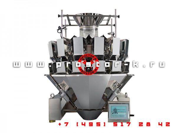 Мультиголовочный весовой дозатор JW-14 (мультиголовка)