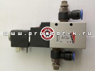 Пневматический клапан для боковой складки
