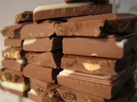 Упаковка шоколадных плиток