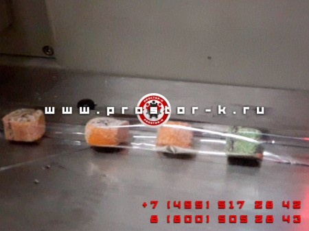 Поштучная упаковка мини-рулетов